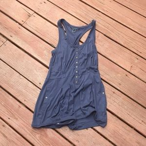 Navy Blue French Connection Romper